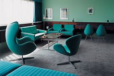 Arne Jacobsen, Room 606, Radisson Blu Royal Hotel, Helsinki