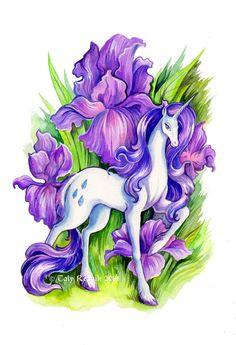 Flower Ponies - Rarity by TrollGirl.deviantart.com on @deviantART #mylittlepony