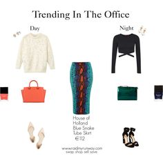 Trending In The Office: Day To Night  swap. shop. sell. save.  www.raidmyrunway.com