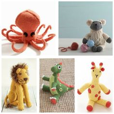 Time to jump on the amigurumi trend! Here are a collection of our knit & crochet stuffed animal patterns.