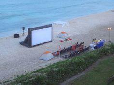 Now Jade Riviera Cancun Resort & Spa: campamento en la playa kid´s club