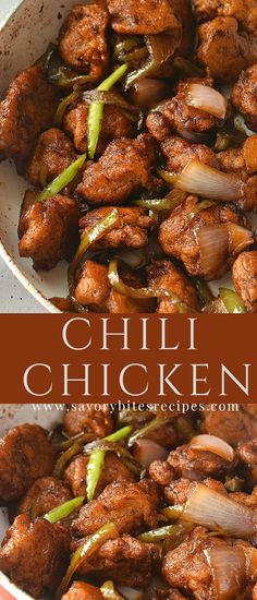 Get the best restaurant style flavors at home,just with some basic steps and ingredients,Indo-Chinese Chili Chicken! Try this with fried rice,noodles or steamed rice too,its just yumm! #chicken #chili #restaurants #style #easy #recipe #yummy