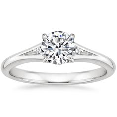 Obedient Diamond Micro Pave Halo With Split Shank Setting To Make One Feel At Ease And Energetic Jewelry & Watches