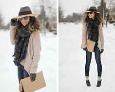 winter outfits formales 45 se Winter Outfits, um d - winteroutfits Grey Sweater Outfit, Fur Vest Outfits, Winter Coat Outfits, Pullover Outfit, Stylish Winter Outfits, Fall Fashion Outfits, Cool Outfits, Fashion Fashion, Leder Shorts Outfit