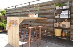 Outdoor Garden Furniture, Outdoor Rooms, Outdoor Gardens, Outdoor Living, Dream Garden, Garden Bar, Home And Garden, Backyard Bar, Backyard Landscaping
