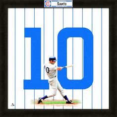 Ron Santo Chicago Cubs Uniframe by Photo File - $63.99