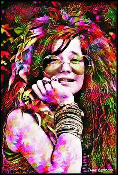 Janis Joplin Born On This Day, January 1943 Janis Joplin, Hippie Love, Hippie Art, Hippie Chick, Rock Posters, Concert Posters, Music Posters, Art Music, Music Artists
