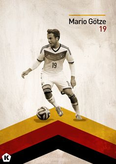 Top 5 Youngsters at the World Cup   KICKTV by Luke Barclay, via Behance