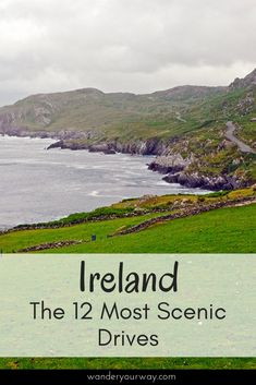 Ireland is a fabulous country for road trips. But with so many choices which scenic drives are the best? I've put together a great list of the best drives in Ireland. Click through to find out more. England Ireland, England And Scotland, Ireland Vacation, Ireland Travel, Dublin Ireland, Road Trip Hacks, Road Trips, Driving In Ireland, Coach Travel