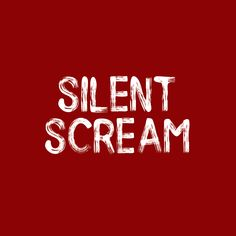 Silent Scream (Free Font)
