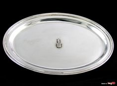 Tacka z herbem jastrzębiec,  srebro pr. 800, 190 g
