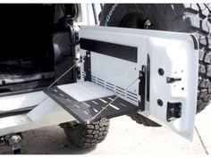 TeraFlex MP Tailgate Table with Cutting Board | Jeep Parts and Accessories | Quadratec