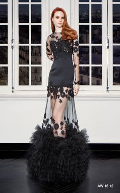 CHRISTOS COSTARELLOS AW 15-16 Christos Costarellos, Fall Winter 2015, Ready To Wear, Goth, Ballet Skirt, Celebrities, Skirts, Designers, How To Wear