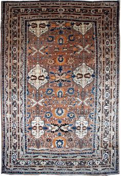 A late 19th century Antique Persian Tabriz Rug, Doris Leslie Blau