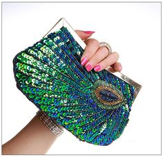 fa2e5b40f5d25 70 Best Purses Green PEACOCK images in 2016 | Peacock, Peacock ...