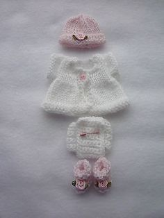 OOAK Sweater Set to fit a 5 inch Baby Doll