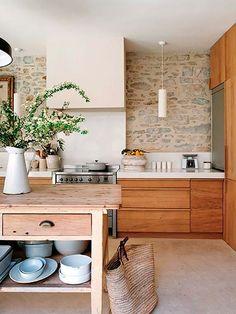 Cocinas de madera