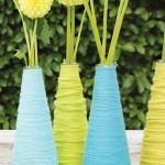 DIY Jewelry DIY Nautical Rope : DIY Haal de lente in huis met vrolijke decoratieve vazen