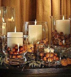 Nápady na podzimní dekorace – dýně, šišky, oříšky, větvičky | Bydlení pro každého