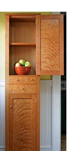 Ah! E se falando em madeira...: Armario para Cozinha