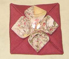 Folded Japanese  patchwork