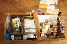 storage for smash book stuff