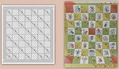 Layout and rendering done entirely in PS Simulator.  A little work connecting the 1/2 Sq. Block done in Art and Stitch once the quilt was loaded.  See more pictures on my Facebook Page.  MK :) https://www.facebook.com/MKQuiltsFL/