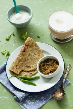 Broccoli & Potato Paratha