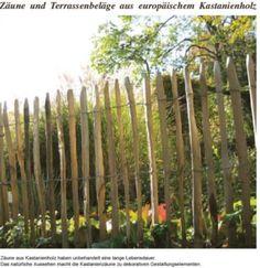 Holzzäune sind dekorative Gestaltungselemente im Außenbereich. Sie finden als Einfriedung von Grundstücken oder als Schutzelemente Verwendung. Zäune begrenzen Gärten, Kinderspielplätze, Grundstücke, Teiche, Weiden, Koppeln, Felder und Wälder. Sie sollten sich harmonisch in die Umgebung einfügen. Je nach Verwendungszweck und Bauart erfüllen Holzzäune verschiedene Funktionen: Einfriedung, Begrenzung, Rankgerüst und Begrünungen, Sicht- und Windschutz. Den Gestaltungselementen sind kaum Grenzen…