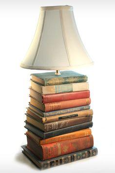 Book Lamp -  DIY idea