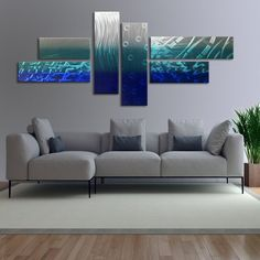 ^^Go to the webpage to learn more on metal scroll wall decor. Click the link for more** Viewing the website is worth your time. Contemporary Wall Sculptures, Metal Sculpture Wall Art, Metal Tree Wall Art, Modern Sculpture, Metal Art, Living Room Bedroom, Living Room Decor, Abstract Wall Art, Blue Abstract
