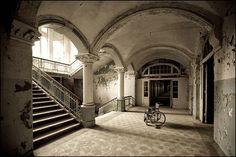 Abandoned hospital - Beelitz-Heilstatten, Germany