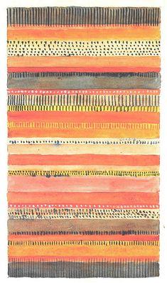 Gunta Stölzl > Works > Bauhaus Dessau > Designs for Wall Hangings Bauhaus Textiles, Motifs Textiles, Textile Patterns, Tribal Patterns, Floral Patterns, Design Textile, Fabric Design, Surface Pattern Design, Pattern Art