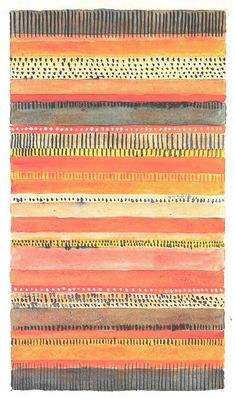 Gunta Stölzl > Works > Bauhaus Dessau > Designs for Wall Hangings Bauhaus Textiles, Motifs Textiles, Textile Patterns, Tribal Patterns, Floral Patterns, Graphic Patterns, Design Textile, Fabric Design, Surface Pattern Design