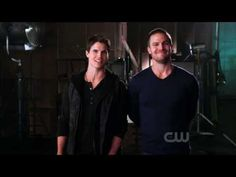 Robbie and Stephen Amell Promo. This is actually pretty funny. They're so adorable.