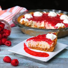 Wow Your Family With This Showstopping Raspberry Cream Pie