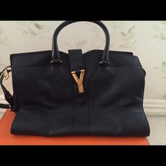 Saint Laurent Y Cabas Bag A pre-owned Saint Laurent Y Cabas Bag in prefect condition, rarely used. No scratch or used marks, not available in retails anymore, last chance to get. Saint Laurent Bags Totes