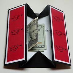 Carolyn's Paper Fantasies: Graduation Box Card - Gift Idea