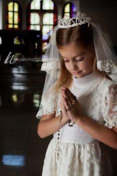 1st communion photography
