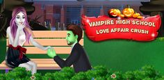 Buy Vampire High School Love Affair Crush Games application source code for iPhone, iPad - iOS projects. Instant support to customize this Vampire High School Love Affair Crush app. Vampire Love Story, Vampire Girls, Free Halloween Games, Halloween Town, Vampire High School, High School Love Story, Girl Makeover, Stupid Guys, Love Dating