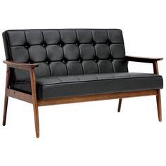 Mid century love seat.