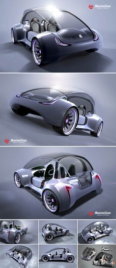 Rumored Apple car concept