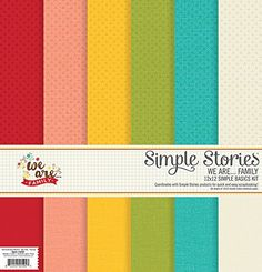 Simple Stories We Are Family Simple Basics Kit -- You can find out more details at the link of the image.Note:It is affiliate link to Amazon.