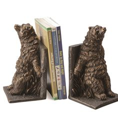 Bear Bookends | Bears Book End | SPI