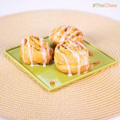 Carla Hall's #PumpkinPie Pinwheels #TheChew
