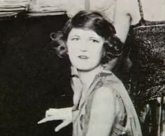Zelda Fitzgerald.  Looking like the eminent flapper in this one.
