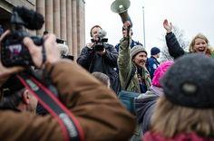 Stop Talvivaara -demonstration @ Helsinki