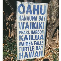 Oahu Subway Art- Love this sign and will have to find one for Kauai when we go in October.
