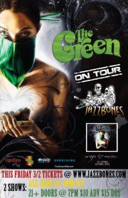 THE GREEN  **2 SHOWS** THIS FRIDAY 3/2PLEASE NOTE WHEN BUYING TICKETS THERE ARE 2 SHOWS, ONE EARLY ALL AGES AND ONE LATE 21     The Green  www.thegreen808.com  www.facebook.com/thegreen808    Mighty High  https://www.facebook.com/pages/Mighty-High/409838420424  http://www.reverbnation.com/areyoumightyhigh      EARLY ALL AGES SHOW TICKETS WITH DOORS AT 4PM, $10  https://www.vendini.com/ticket-software.html?e=9c8c46d017282a78398230df713ebb68