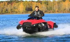 boat atv | Alan Gibbs, the creator of the Quadski amphibious and founder of Gibbs ...